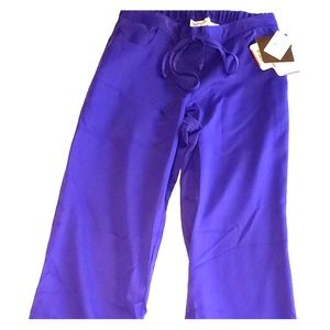 Grey's anatomy scrub pants (purple)